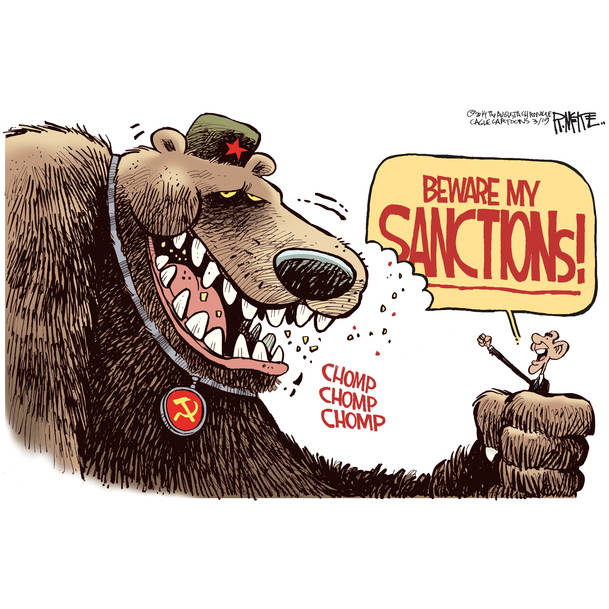 Image result for sanctions against russia killing the eu