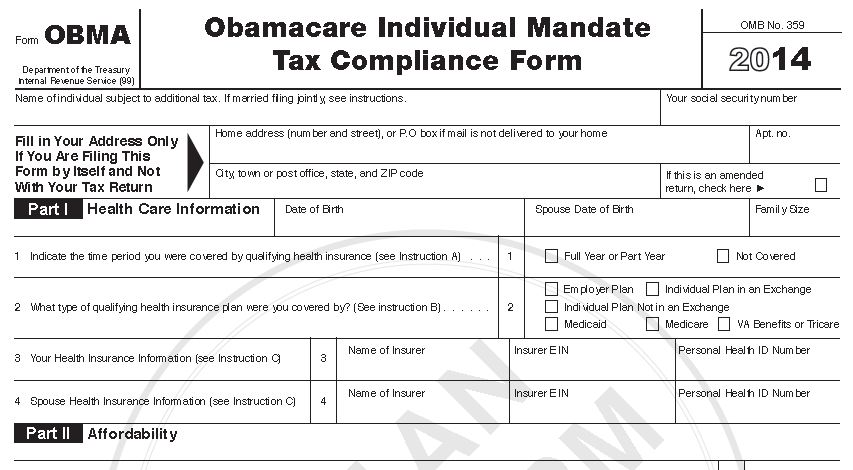 New Irs Form Proves Obama Lied About Individual Mandate Tax The