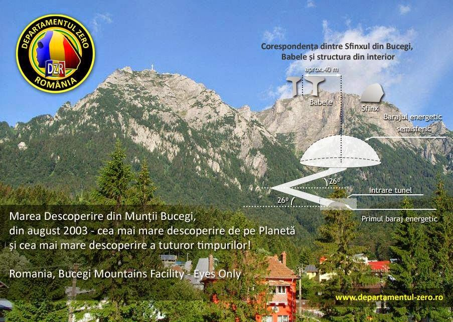 01 Romanian Alien Base Bucegi Mountains