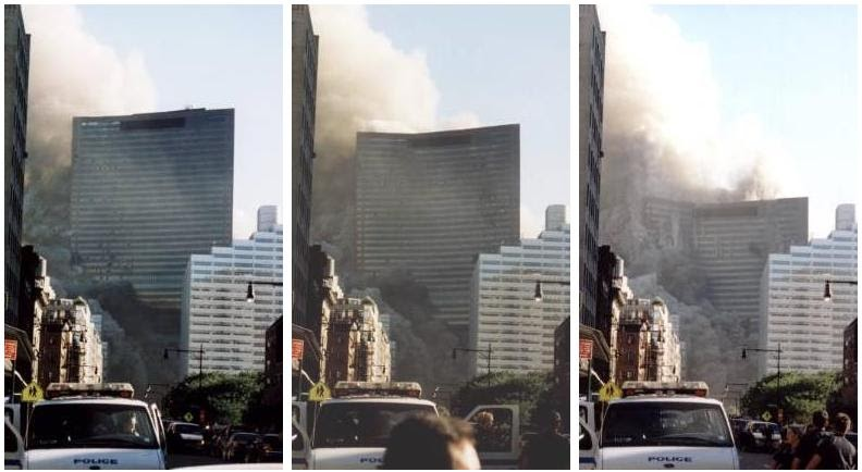 Building #7 COLLAPSES on 9/11 ... even though it wasn't hit by an airliner.