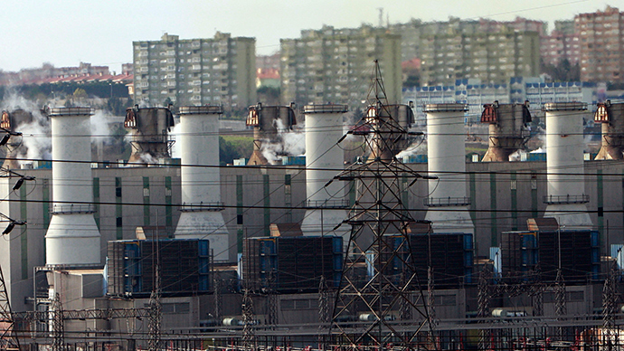 A general view of Ambarli power station in Istanbul (Reuters / Osman Orsal)