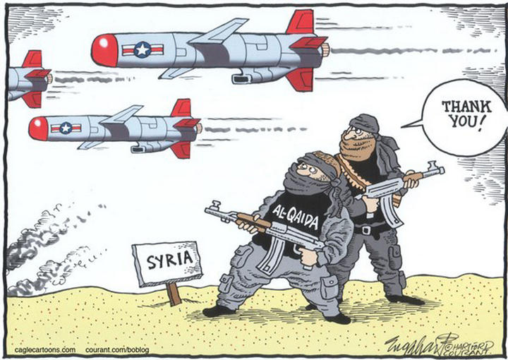 a reaction to the united states war against the al qaeda