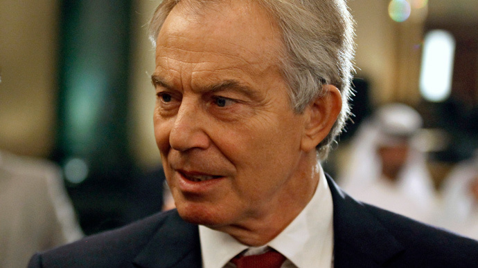 Tony Blair (Reuters / Mohamed Abd El Ghany)