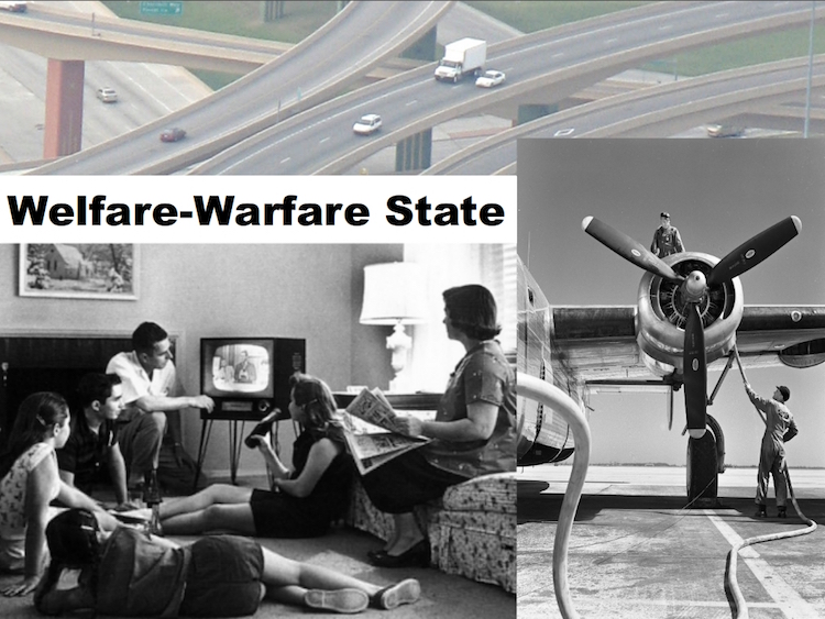 Welfare-warefare-state