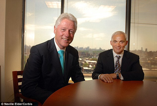 Canadian businessman Frank Giustra got a sweetheart uranium mining deal from Nazarbayev in 2008 with former US president Bill Clinton's help
