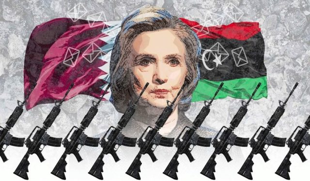 Hillary-Clinton-emails-arming-terrorists-Syria-Libya-middle-east