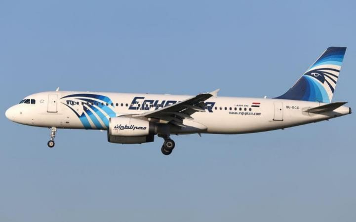The Missing Egypt air aircraft with the plane registration
