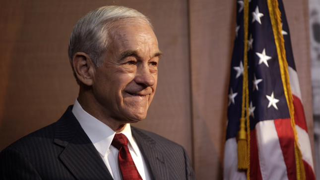 Rep. Ron Paul (R-Texas) seen during a press conference on Wednesday, May 16, 2012 about a bi-partisan effort to expedite the withdrawal of U.S. troops from Afghanistan.