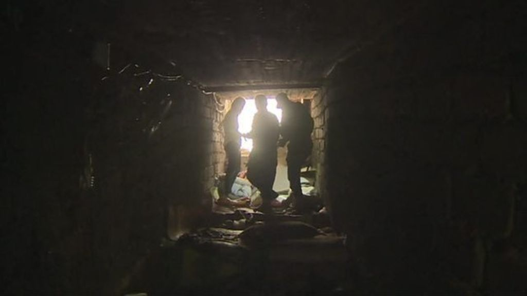 Orla Guerin goes inside one of Islamic State's tunnel networks on the frontline outside the northern Iraqi city Mosul.