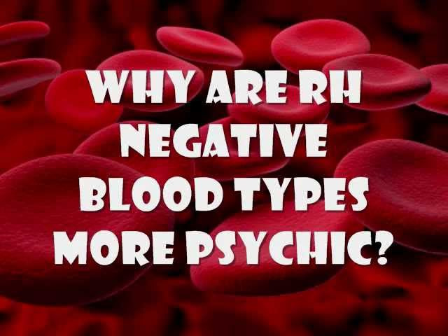 Why are TPTB tracking people with Rh-negative blood so closely