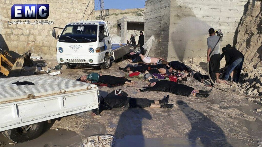Another False Flag Gas Attack To Be Blamed On Syrian Government