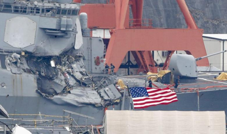 US Destroyer Ignored Warnings Ahead Of Deadly Collision