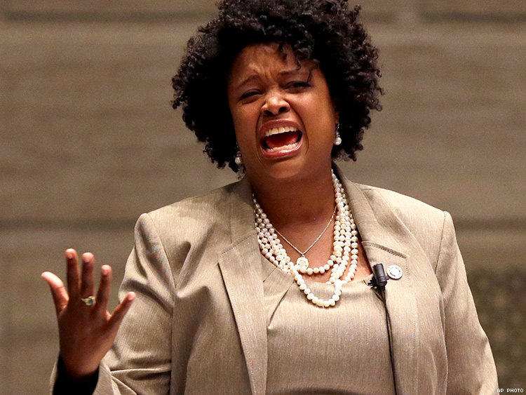 Missouri Senator Maria Chappelle-Nadal hasn't even been censured for writing: 'I Hope Trump Is Assassinated!'