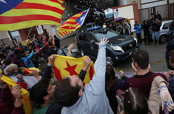 spain independence spain begins to lock down barcelona prior to independence vote