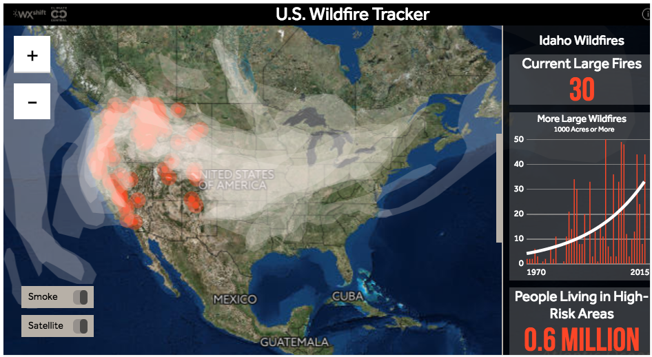 map large wildfires in montana updated
