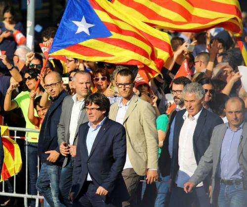 """It's A Coup"": Catalan President Slams ""Worst Attack"" By Spain ""Since Franco Dictatorship"""