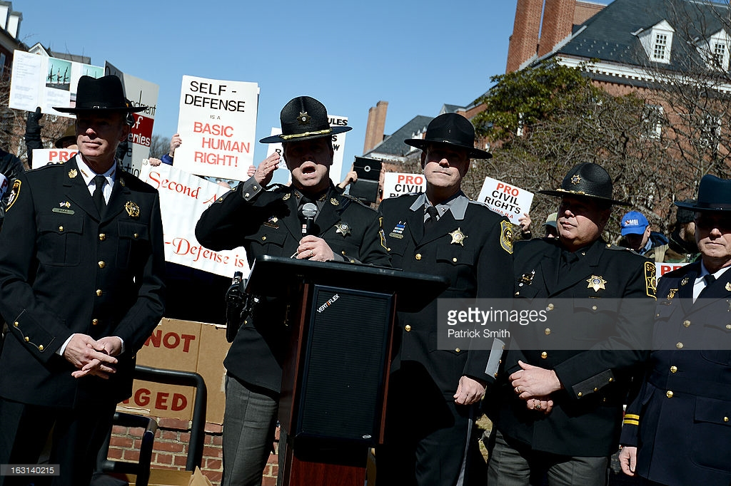 Maryland Sheriff Says It Will Be CIVIL WAR Before Gun Confiscation