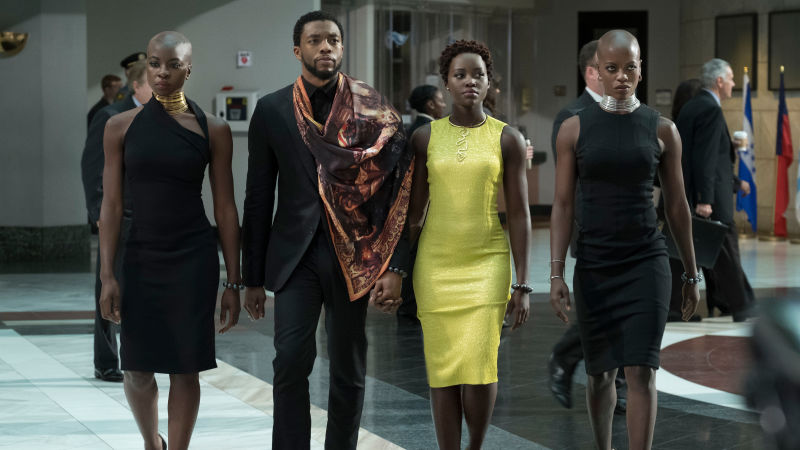"Why is the ""BLACK PANTHER"" movie being artificially boosted to break all the box-office records?"