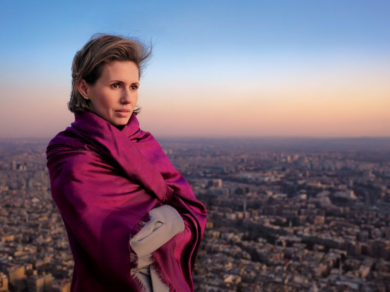 "First Lady Asma Al-Assad: Syria's National Treasure and ""Joan of Arc"""
