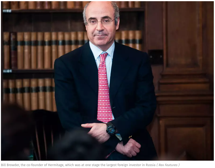 Accused turns accuser against Bill Browder's claims of corruption