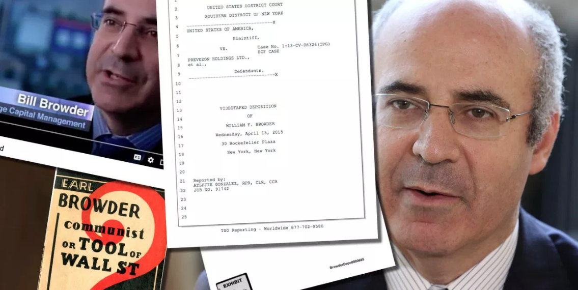 BILL BROWDER: Hillary's bagman and ex-American oligarch wanted by Russia for stolen $400 million that went to Clinton campaign