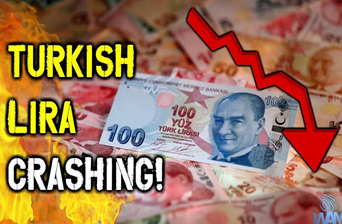 This is exactly how the banksters have been crashing Turkey's currency since before that last CIA-coordinated coup attempt against Erdoğan.
