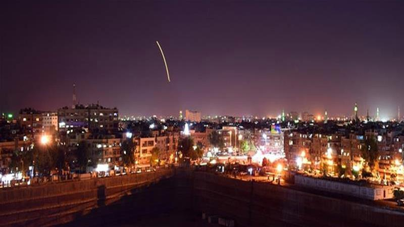 Israel Using Occupied Golan Heights to Fire Missiles at Damascus