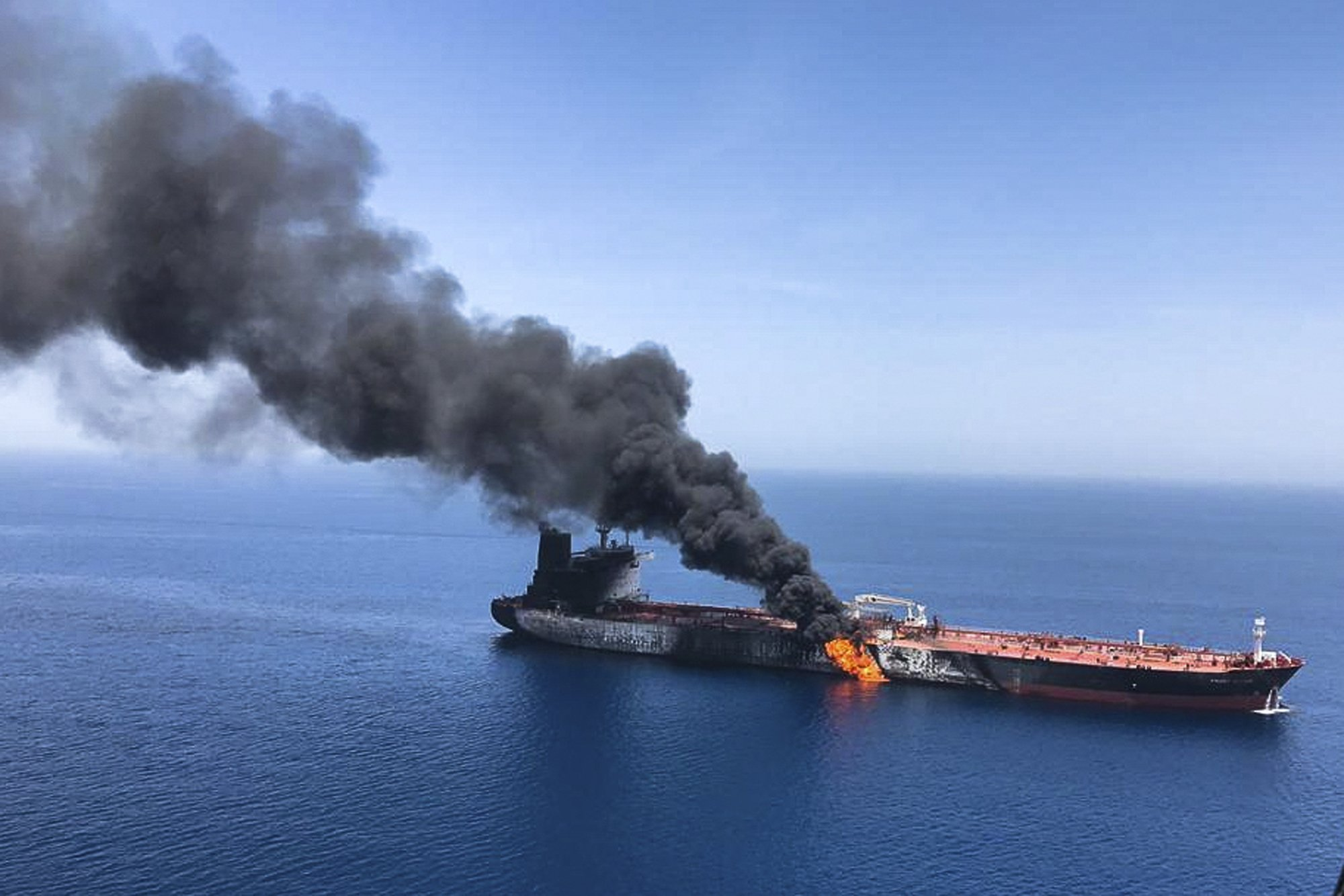 Did the Neocons just torpedo the Iranian-Japan diplomacy mission by bombing 2 ships with Japan-related cargo?