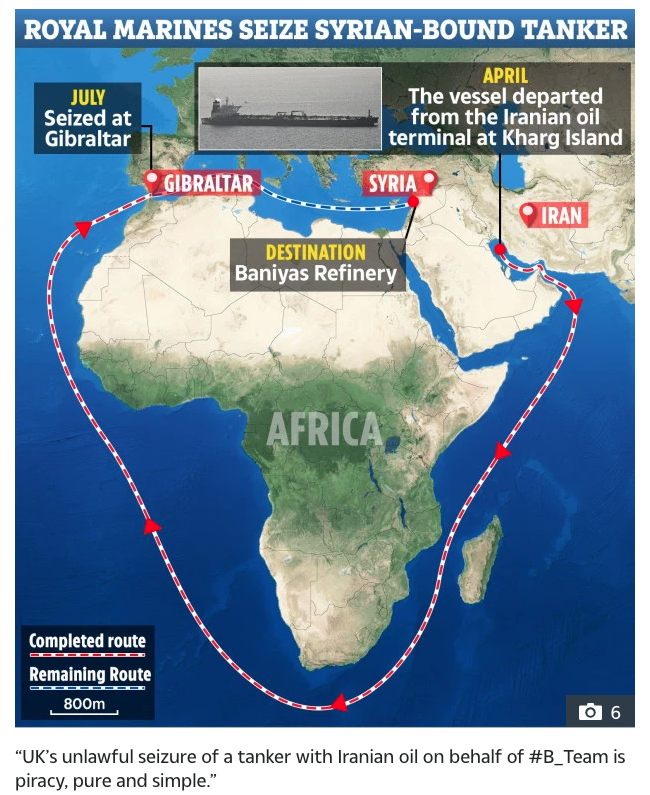 British Piracy on the High Seas Exposed Like Never Before