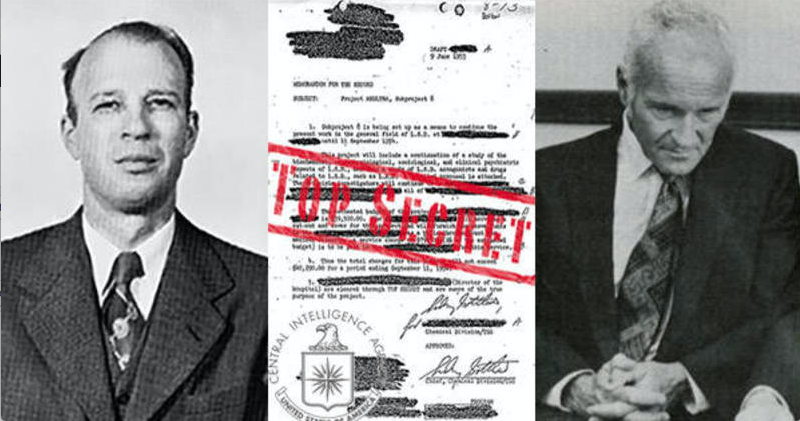 MK-ULTRA Mind-Control Program: CIA's 'Poisoner In Chief' Sidney Gottlieb Exposed by MSM