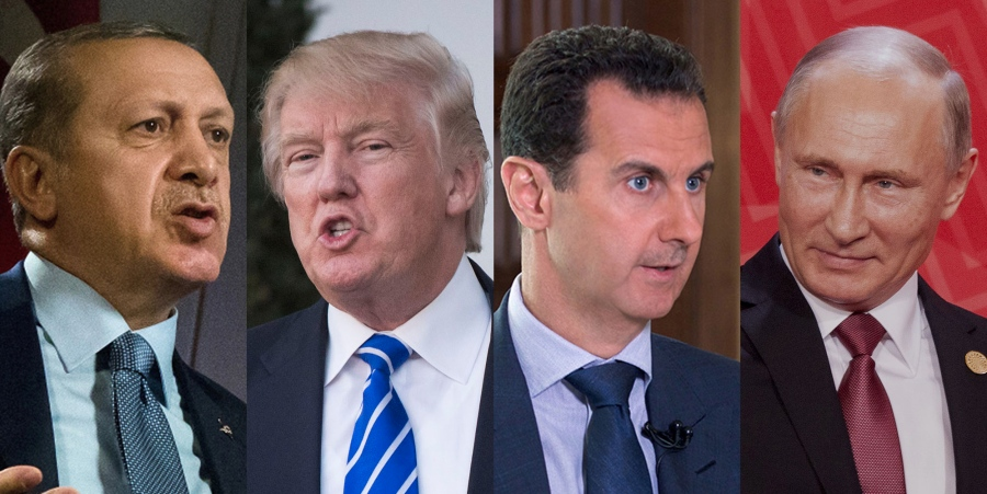 Putin's peace process works like a charm In Syria, Trump totally on board
